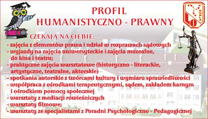 Profil humanistyczno – prawny